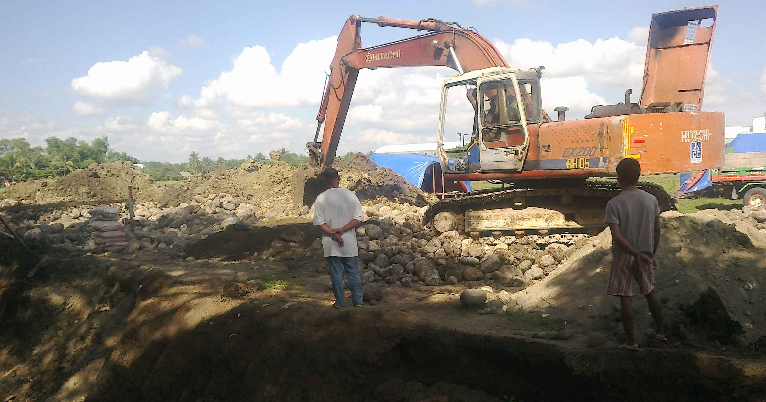 kabankalan city flood control project by dynamic builders bacolod city
