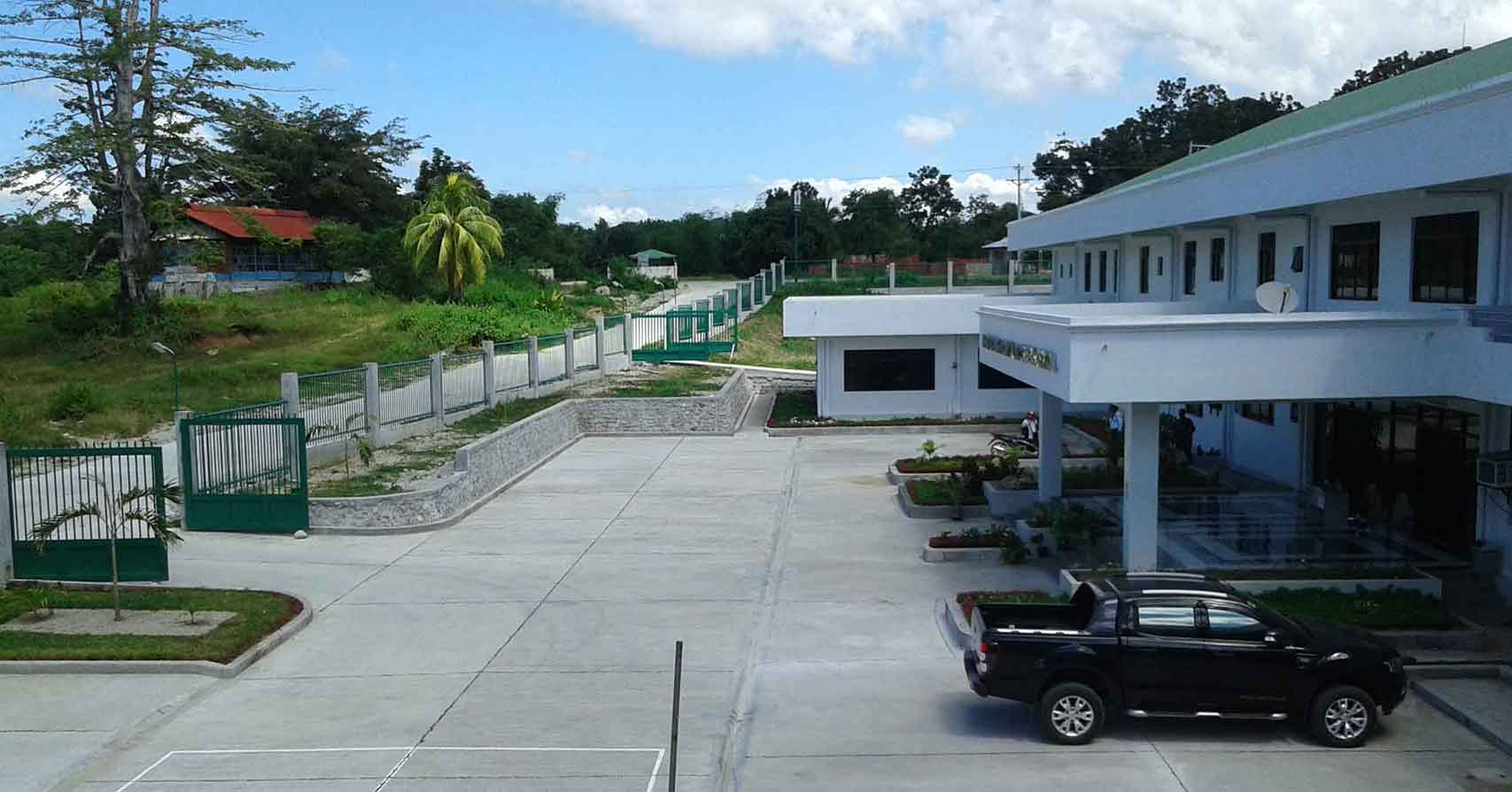 sipalay city hospital site development by dynamic builders and construction bacolod city